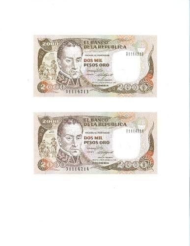 Duo De Dos Mil Pesos (Colombia) a COP 85000  en  PrecioLandia Colombia (6qdqsr)