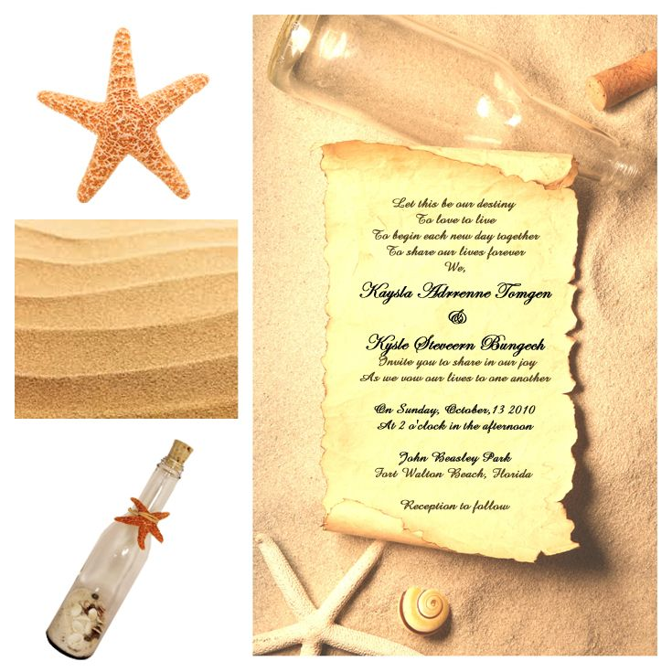39 best invitation in a bottle our invitations images on Wedding Invitations Fort Walton Beach Fl give your guests a clue that you are going to have a beautiful beach wedding surprise them with an invitation in a bottle wedding invitations fort walton beach fl