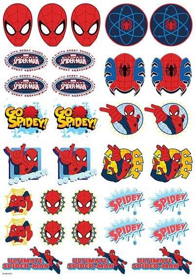 http://www.createacake.com.au/spiderman-icons-sheet.html