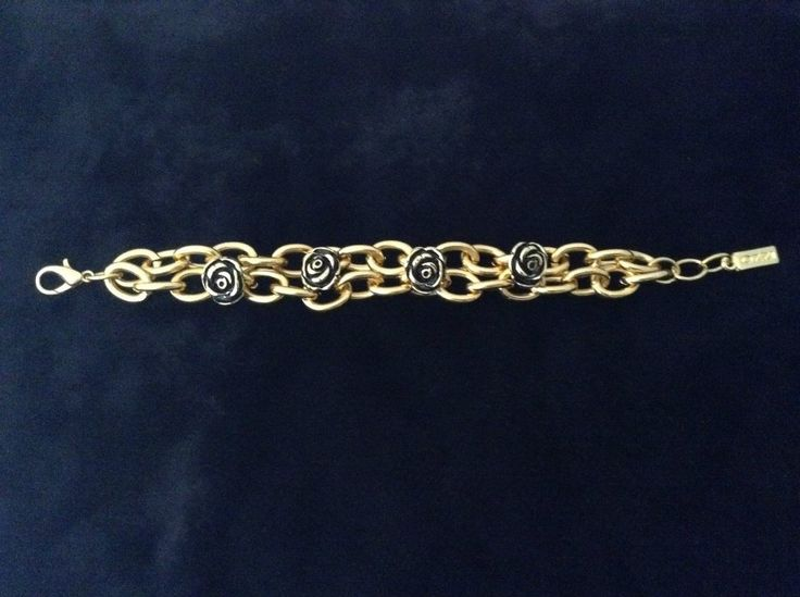 Ozzi Jewellery:Amazing golden plated bracelet with print  Price:20e #Jewelry #OZZIjewellery