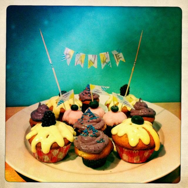 Thank You Cupcakes ...