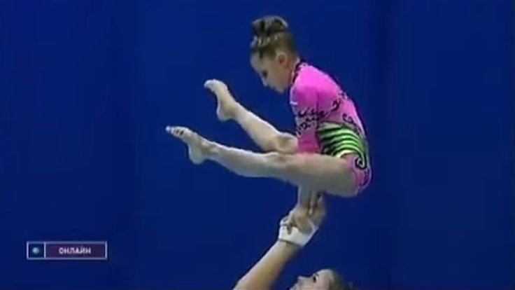 Gymnastics showcases the most incredible things human beings can do with their bodies. This is probably the most impressive display of that I've ever seen, but maybe you've seen a few that can match it! I want to see them, too. Watch this video and share your favorite gymnastics video in the comments.