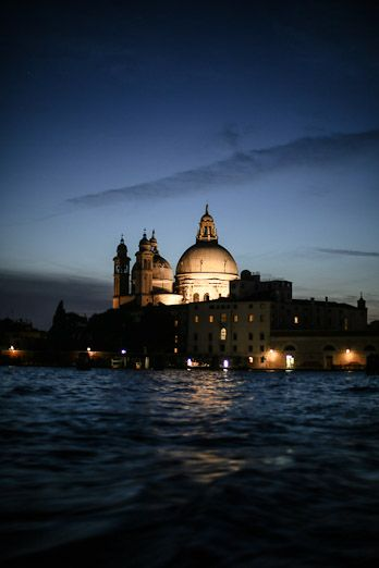 Taking a night cruise in Venice is a great way to see the city from a different perspective #italy #cruise