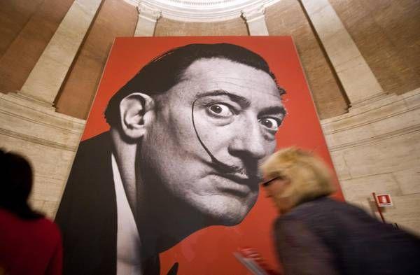 """Mostre: Dali' finalmente al primo posto:  """"Fantastico Dali, lo adoro"""""""