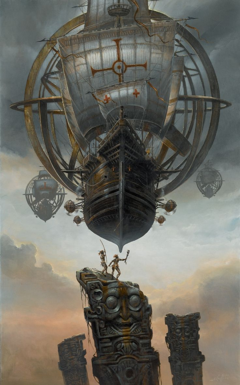 "Colonial Expedition - Devolving into A Heart of Darkness situation  ""El Dorado by Didier Graffet"""