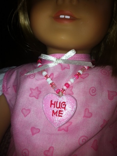 American Girl Doll necklace