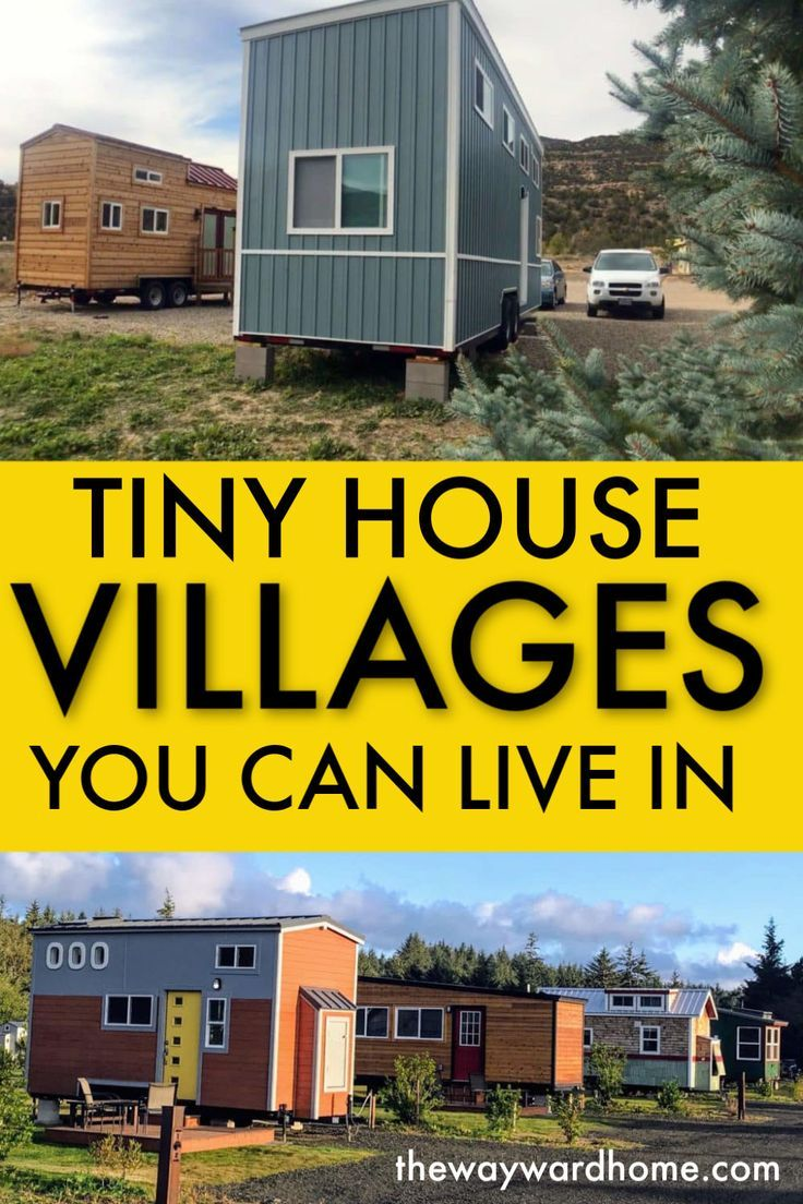12 Tiny House Communities You Can Live In Tiny House Village Tiny House Community Tiny House