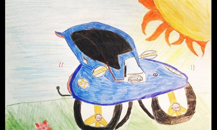 #интересное  Nissan превратил детские рисунки в концепт-кары (8 фото)   Бразильское подразделение компании Nissan в честь Дня ребенка, который в стране отмечается 10 октября, провело конкурс рисунков для детей, родители которых трудятся на местных предприятиях японско