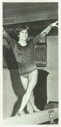 Mary Lou Retton - Olympic Gold Medal Gymnast in 1984 Summer Olympics in Los Angeles, CA - click to view her 1983 Fairmont High School #yearbook! #Gymnast #TeamUSA #Olympics #GoldMedal