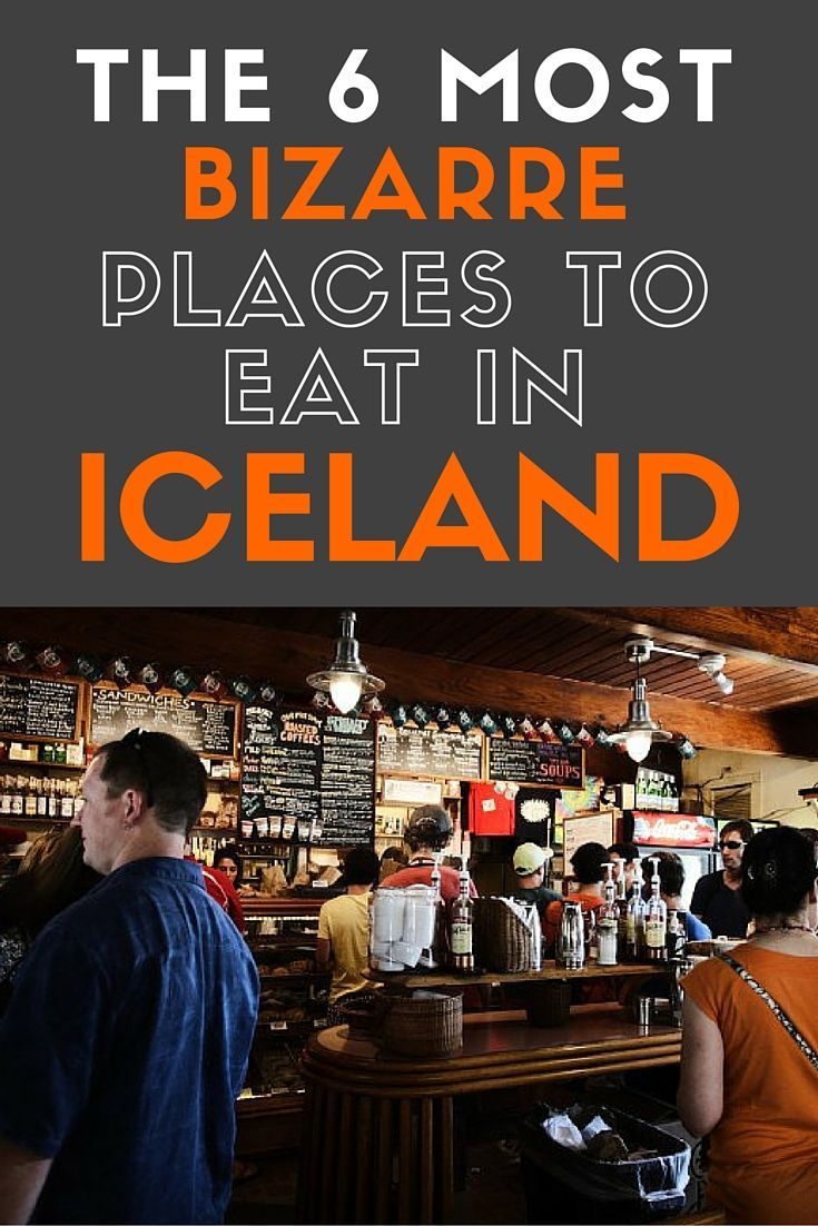 Maybe some of the food here is a little strange, but if you're feeling adventurous, these are the best places to give the cultural side of Iceland a go.