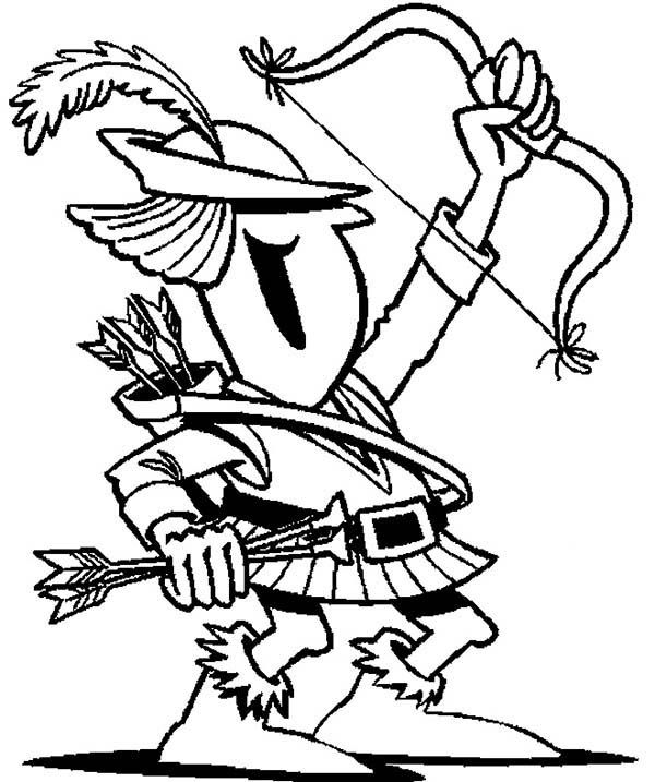 Chibi Of Robin Hood Coloring Pages : Best Place to Color