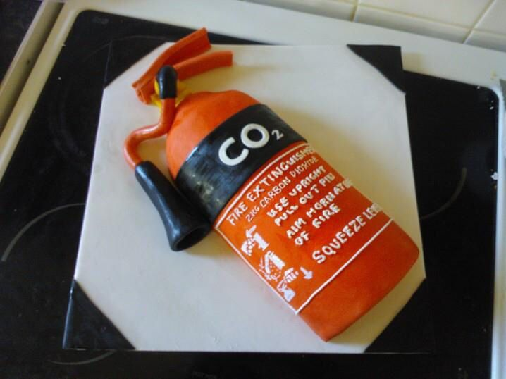 Fire Extinguisher Cake Celebration Cakes 3d Cake Take The Cake