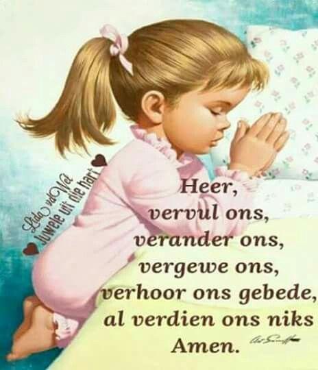Ons krag lê in gebed