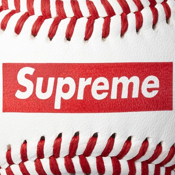 Supreme x Rawlings – Official League Baseball + Player Preferred Glove | Available Now