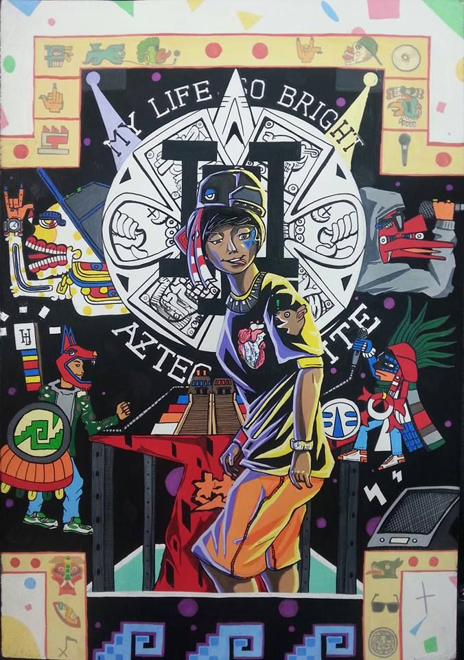 3. Kanion  Aztec + South Korean HipHop labe (HILITE Records)  Recommended BGM  https://www.youtube.com/watch?v=dotsOGOLOHY