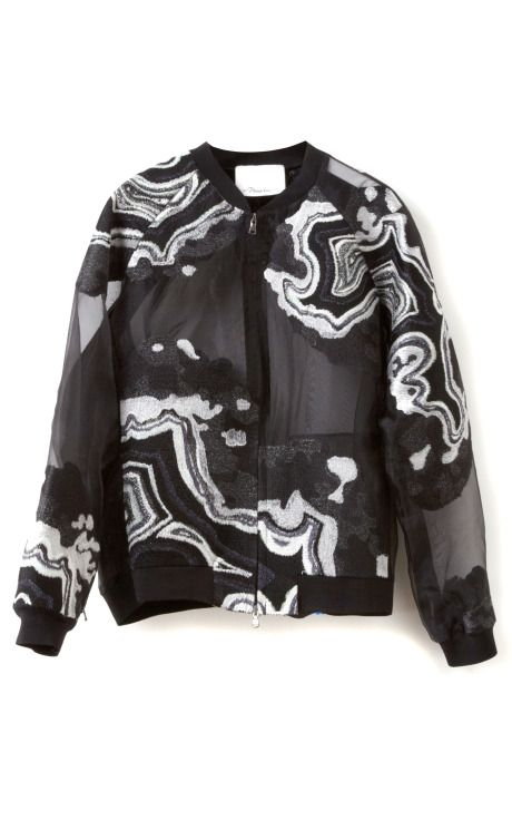 Geode Embroidered Souvenir Jacket by 3.1 Phillip Lim for Preorder on Moda Operandi