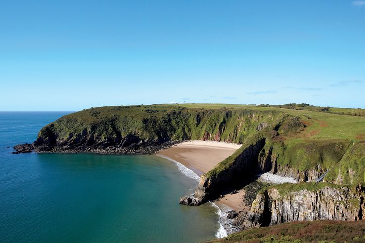 The Welsh seaside region of Pembrokeshire —and its epic coastal path—is a scenic four-and-a-half-hour train ride from London but feels a world away.
