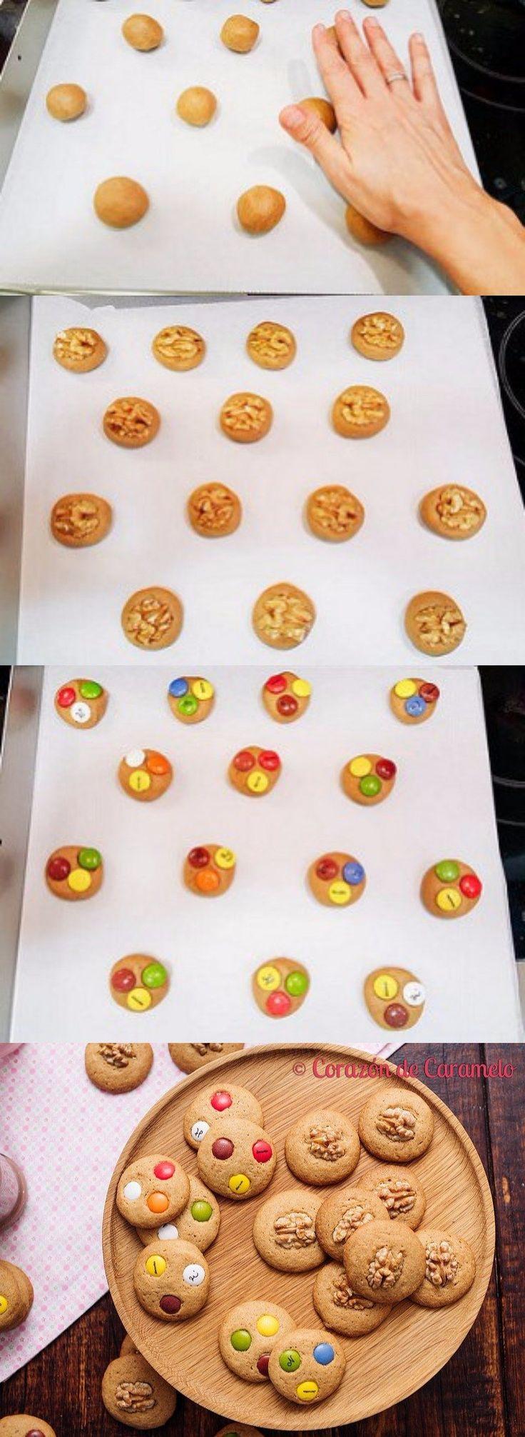 Práctica receta de galletas caseras / https://www.corazondecaramelo.es/
