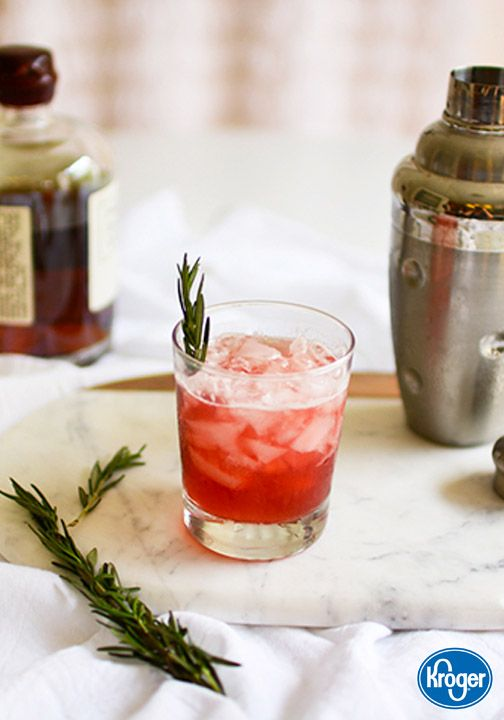 This tangy and bright Cranberry Whiskey Sour from Inspired Gathering comes together quickly and easily—making it the perfect cocktail for all your holiday entertaining this Christmas season. Plus, when you garnish with a sprig of fresh rosemary, this recipe pretty much tastes like the holidays, in a glass!