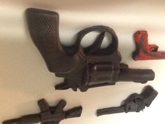 Fondant Glock Pistol Semi Automatic Rifle and by GiftsbyLaney, $35.00