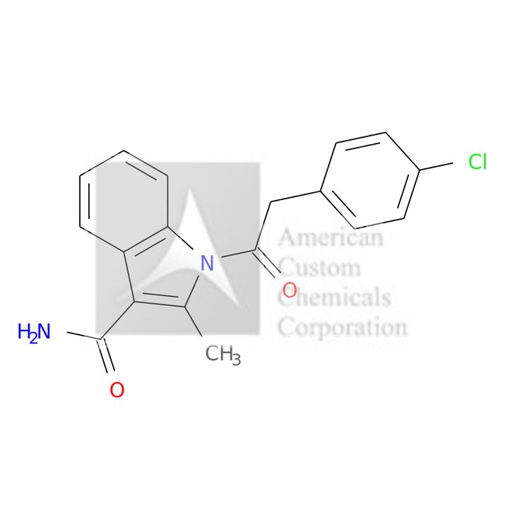 1-[2-(4-CHLORO-PHENYL)-ACETYL]-2-METHYL-1H-INDOLE-3-CARBOXYLIC ACID AMIDE is now  available at ACC Corporation