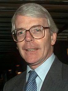 John Major had a grey Spitting Image puppet.