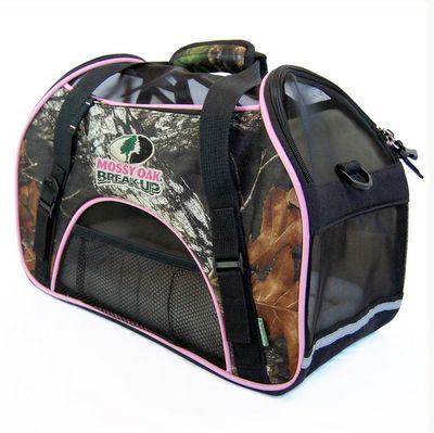 BERGAN Comfort Carrier MossyOak Pink from King Wholesale Pet Supplies