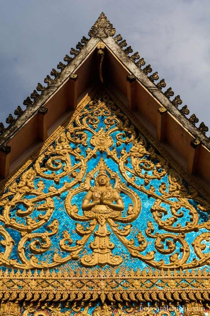 Exploring Thakhek Laos, One Cave at a Time - Brilliant-Turquoise-and-gold