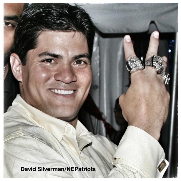 Tedy Bruschi 2013 New England Patriots Hall of Famer