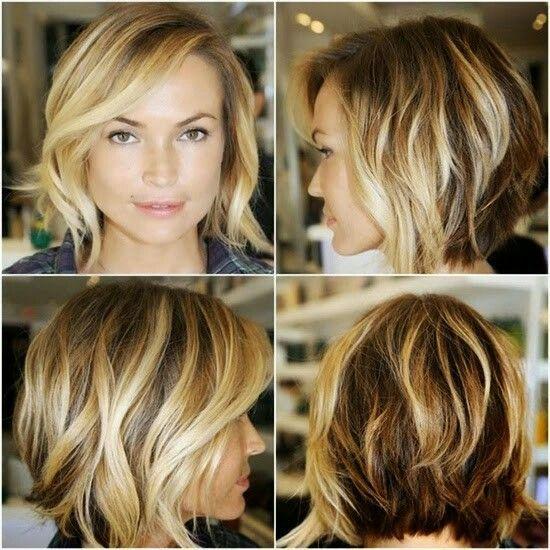 Super leuke kapsels voor halflang haar!! Highlights, lowlights, kleuren, boblines en nog veel meer!!