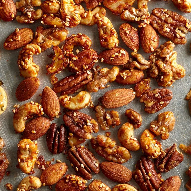Nuts That Party With Rosemary and Gingersnap (Just Not at the Same Time)