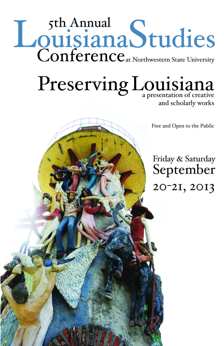 Program cover -- 5th Annual LA. Studies Conference