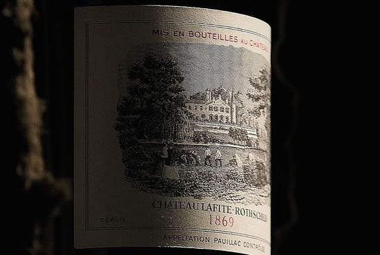 Most Expensive Bottle Of Wine : Lafite 1869 $232,692 a Bottle