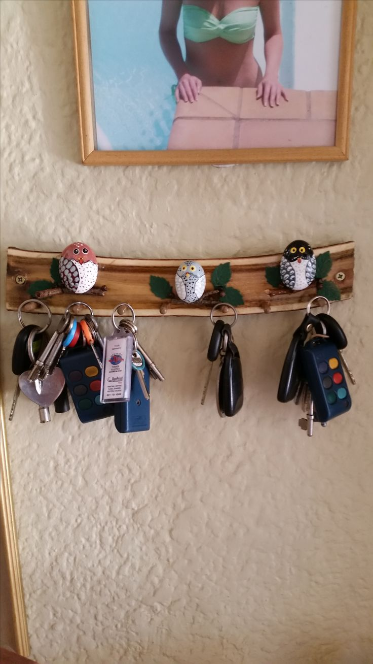 Pebble Owl Keyholder By Mi Keys.  Order your now.