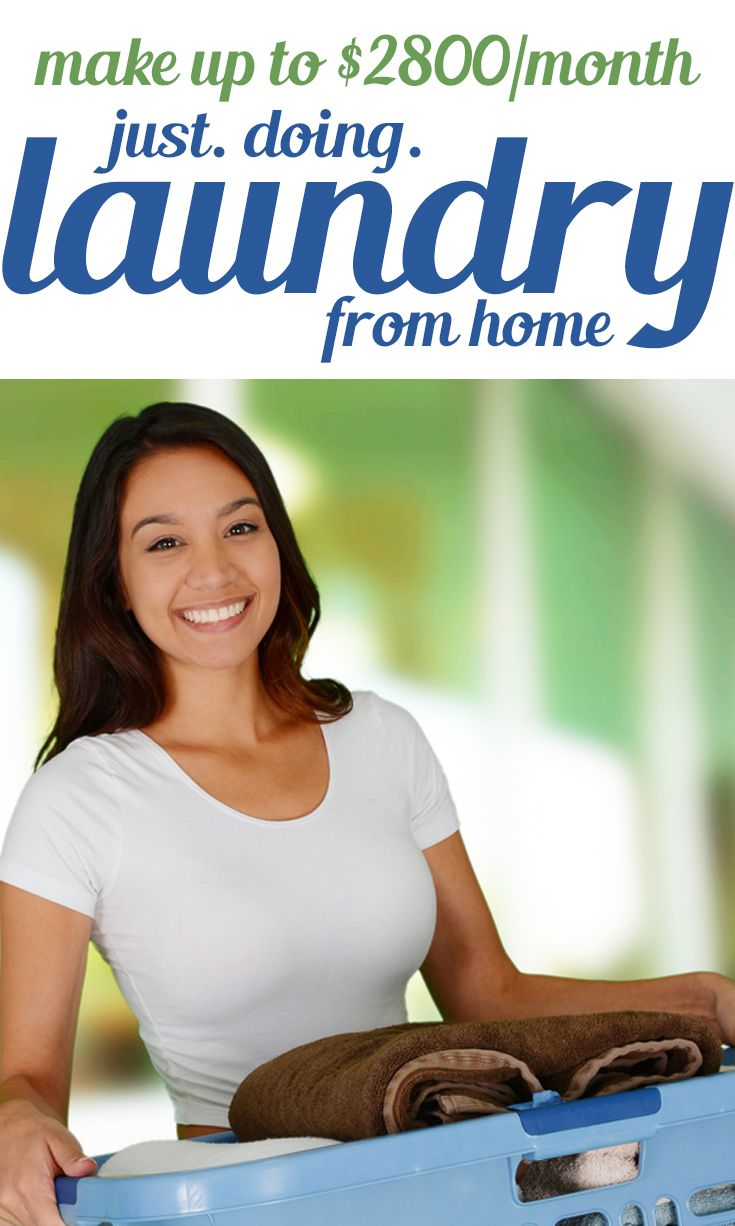 Start A Laundry Business The Perfect Side Hustle For Moms Or Anyone Laundry Business Make Money From Home