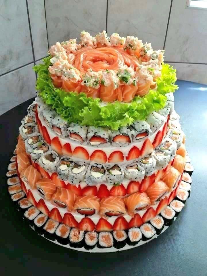 Sushiケーキ