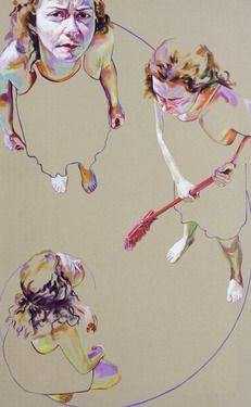 "Saatchi Online Artist Cristina Troufa; Painting, """"Divine"""" #art"
