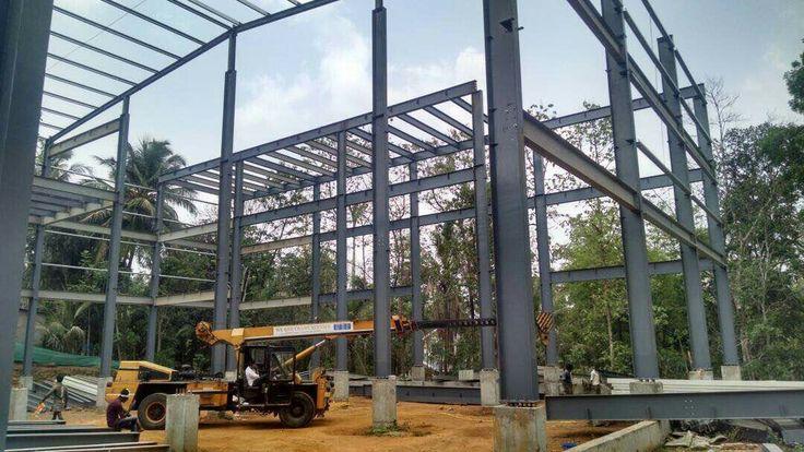 Steel building# elamkulam# malabar trading