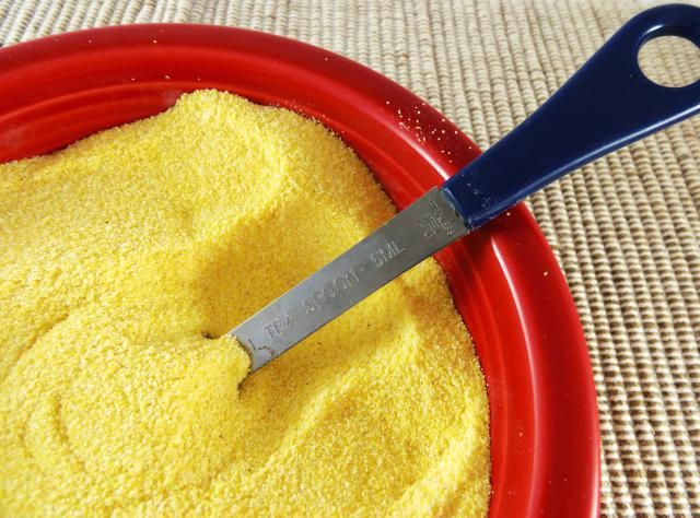 Need self-rising cornmeal for a recipe? Here's how to make it from three basic ingredients.