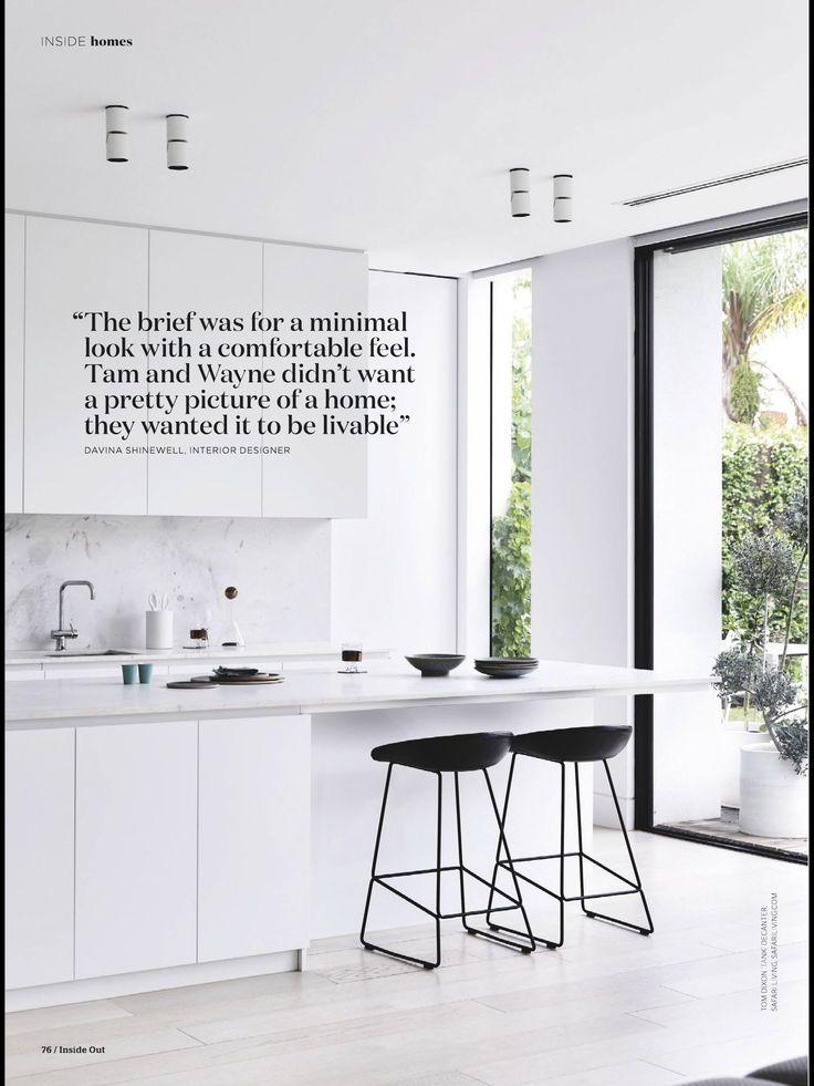 Refined and elegant Elba kitchen featured in this month's @insideoutmag . #cdkstone #elba #elbamarble #elbadolomite #dolomite #marble #naturalstone #naturalbeauty #naturesmasterpiece #whitemarble #whitestone #kitchendedign #kitcheninspiration #designinspiration
