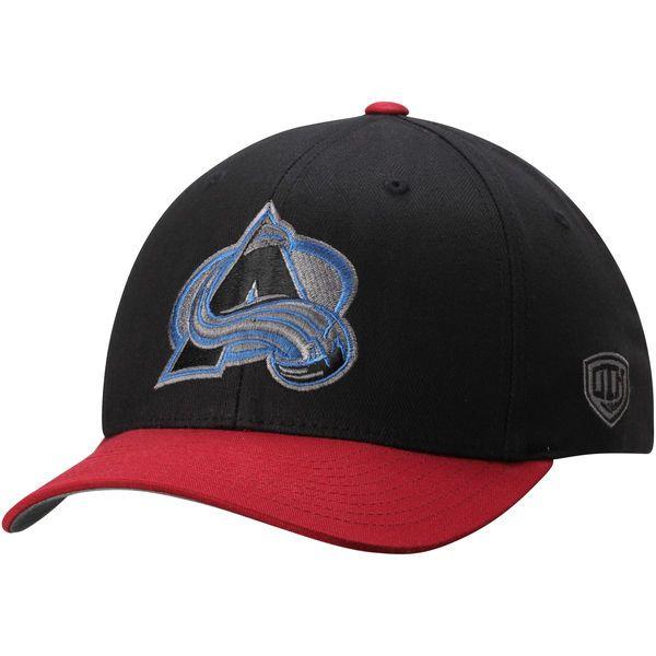 Colorado Avalanche Old Time Hockey Black Knight Herringbone Flex Hat - Black - $20.99