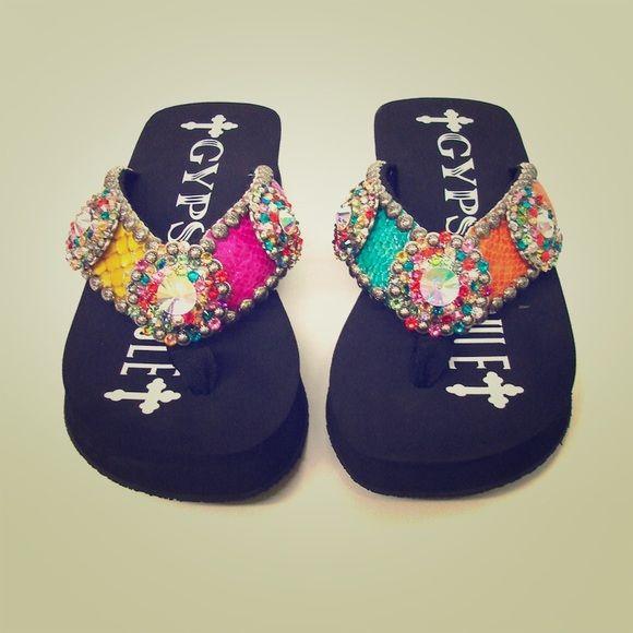 66 Best Blinged Out Sandals Images On Pinterest  Flip Flops, Beach Sandals And Flip Flop Sandals-1752
