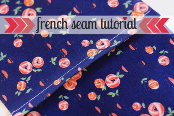 French seams are a handy little skill to have in your repertoire. They're great for delicate fabrics because they enclose the raw edges inside two seams, so any fraying will stay hidden in the seam. They make strong seams with a bit of insurance. They take a little extra time, but look lovely and neat on the wrong side and really add a professional finish. They work best on straight seams.