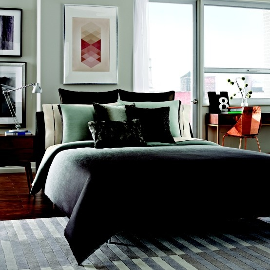 Robin Egg Blue Bedroom Ideas: This Timeless, Yet Trendy Comforter Features A Luscious