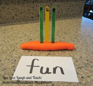 Great ideas for practicing sight words by Live, Love, Laugh and Teach!