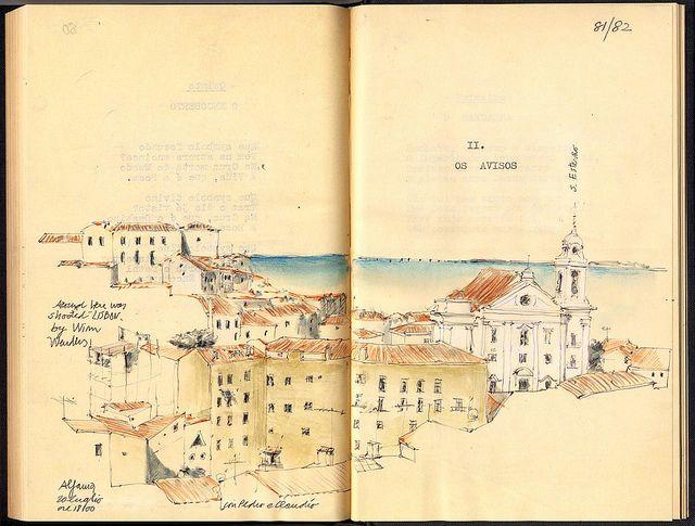 Fernando Pessoa's Mensagem 1934 . via schizzinosa on Flickr . source: purl.pt/13965