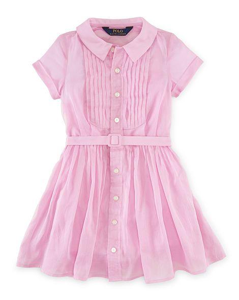Cotton Voile Dress - Girls 2-6X Dresses & Skirts - RalphLauren.com