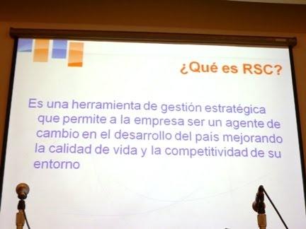 ¿Qué es la RSC?