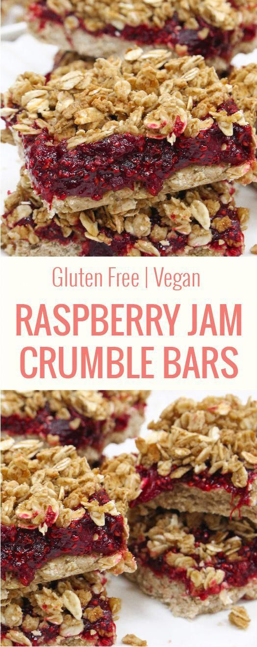 The best on-the-go breakfast or afternoon treat? Sticky sweet raspberry jam and …