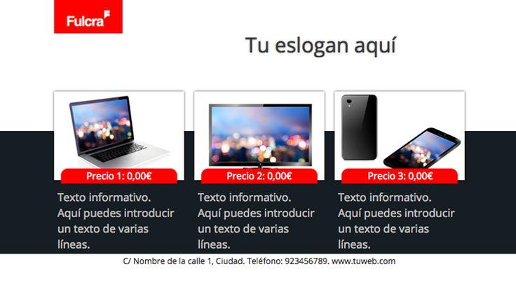 Plantilla anuncio Tecnología